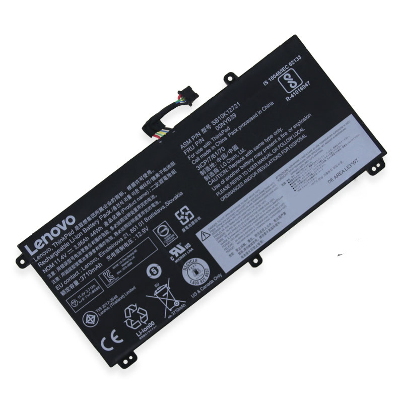 Batterie pour Lenovo ThinkPad T550S