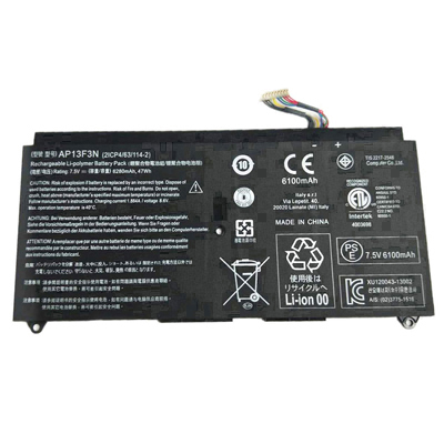 Batterie pour Acer Aspire s7-191-53314g12ass