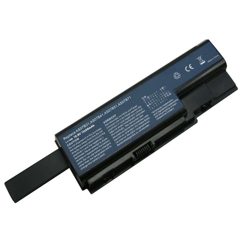 10400mAh Batterie pour Acer AS07B31
