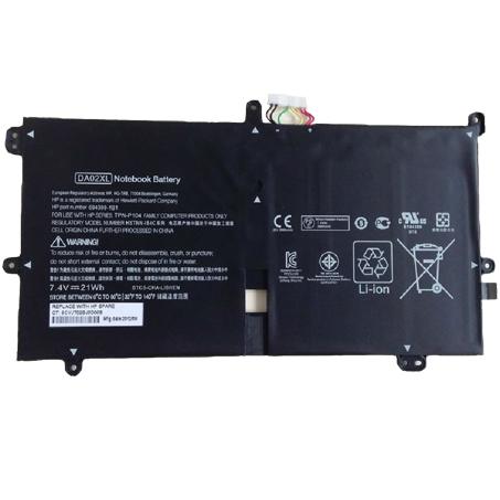 21Wh Batterie pour HP Envy x2 11-g000
