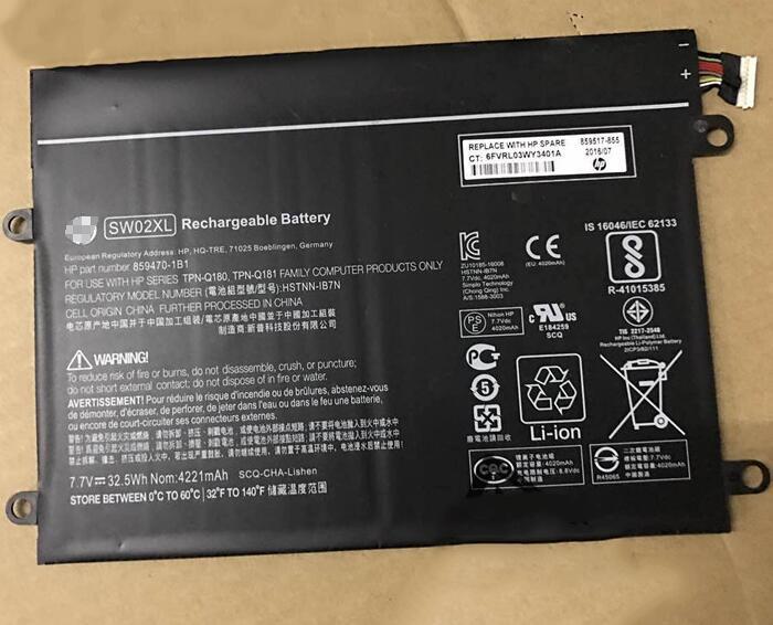 Batterie pour HP x2 210 G2