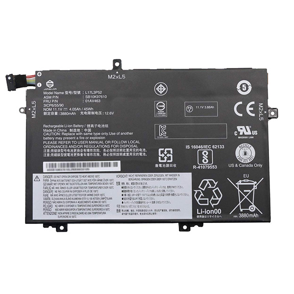 Batterie ThinkPad L580
