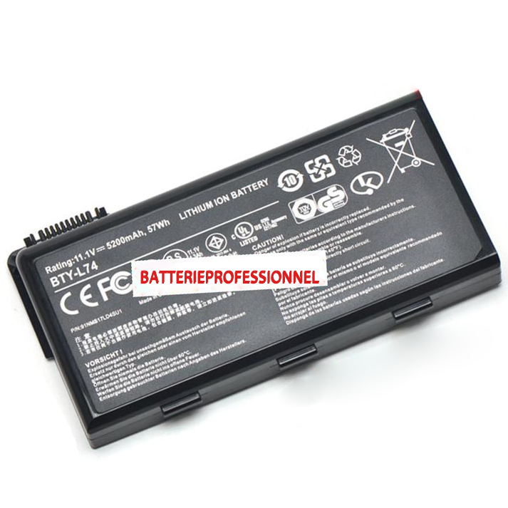 Batterie pour MSI GE700