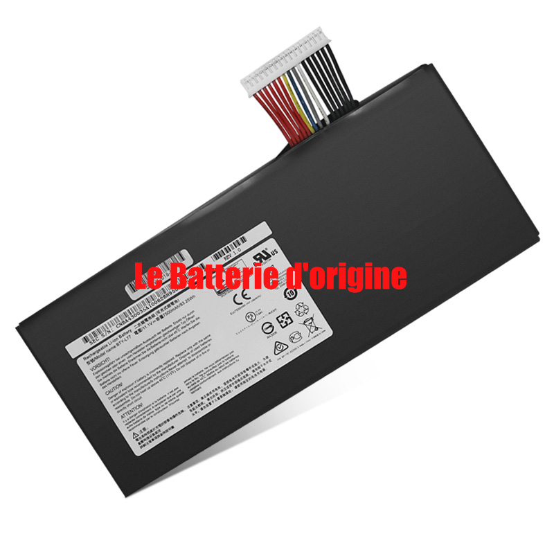 Batterie pour MSI BTY-L77