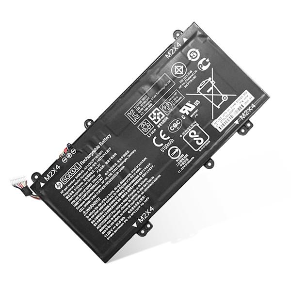 61.6Wh Batterie pour HP SG03XL