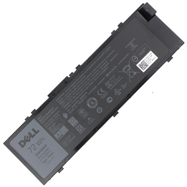 72Wh Batterie Dell Precision 7520
