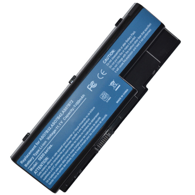 4400mAh Batterie pour Acer AS07B31