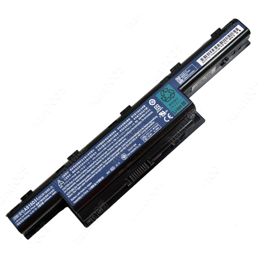 4400mAh Batterie pour Acer AS10D41